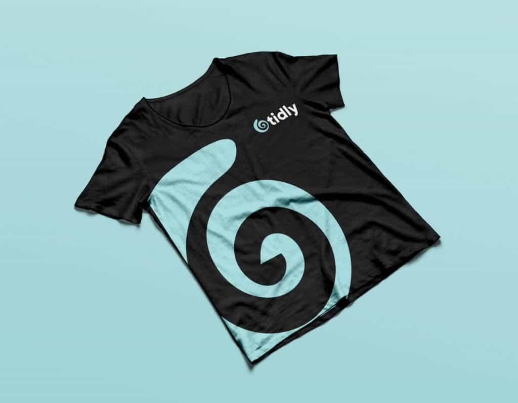 T-shirt Tidly מיתוג חולצות ועוד